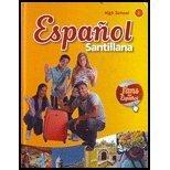 9781616052515: Español Santillana 1 High School