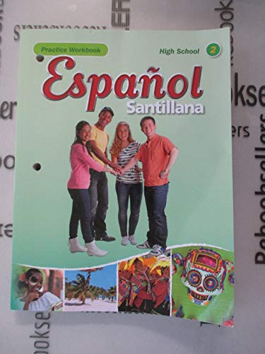 9781616052522: Espanol Santillana Hs Level 2 Practice Workbook