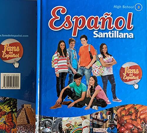 9781616059101: Espanol Santillana High School 3 with Audio Cd