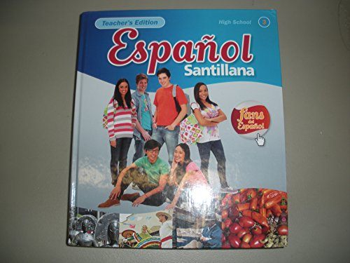 9781616059132: Teacher Edition Santillana Level 3 with Two Student Audio CDs