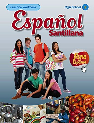 9781616059293: Espanol Santillana Practice Workbook High School 3