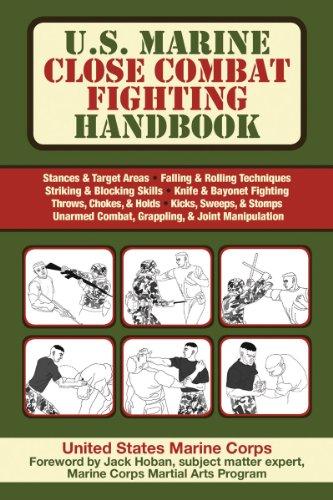 9781616081072: U.S. Marine Close Combat Fighting Handbook