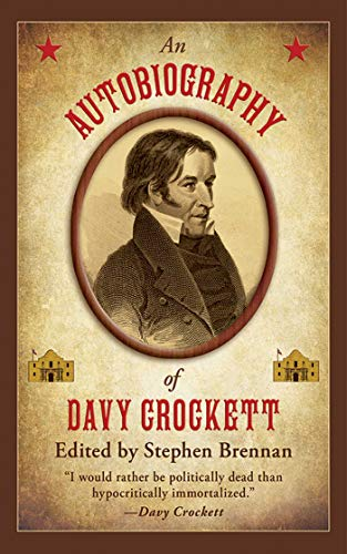 9781616084004: An Autobiography of Davy Crockett