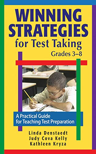 9781616085643: Winning Strategies for Test Taking, Grades 3-8: A Practical Guide for Teaching Test Preparation