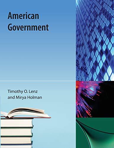 American Government: Lenz, Timothy O.,