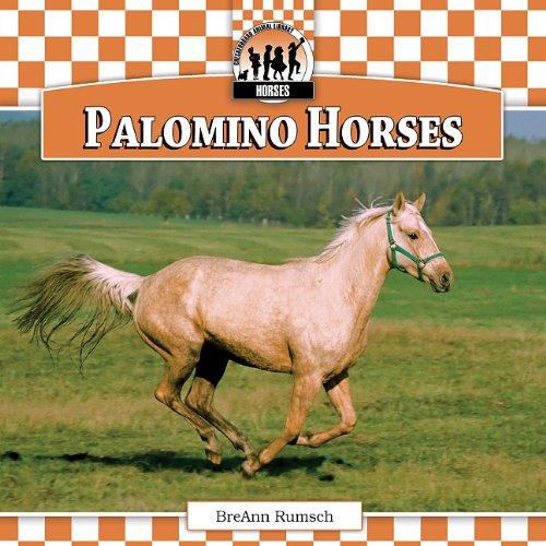 9781616134204: Palomino Horses (Checkerboard Animal Library: Horse Set I)