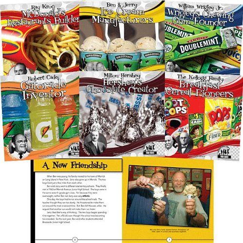 9781616135539: Checkerboard Biography Library: Food Dudes