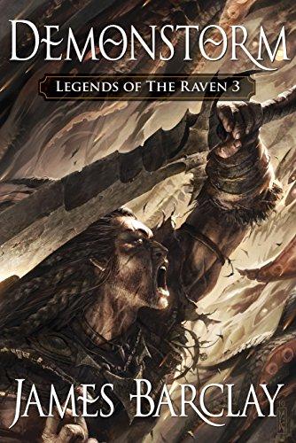 9781616142520: Demonstorm (Legends of the Raven 3)