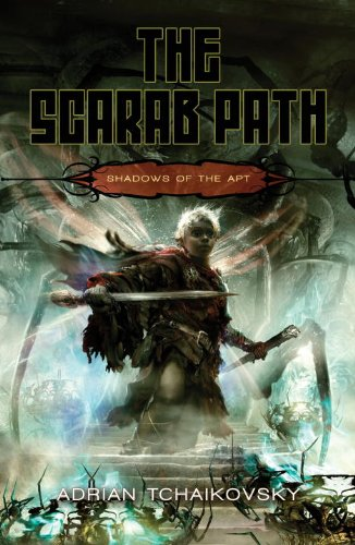 9781616143619: The Scarab Path (Shadows of the Apt, Book 5)