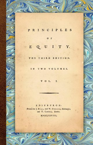 Principles of Equity: Henry Home; Lord