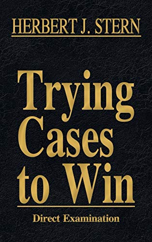 9781616193461: Trying Cases to Win Vol. 2: Direct Examination