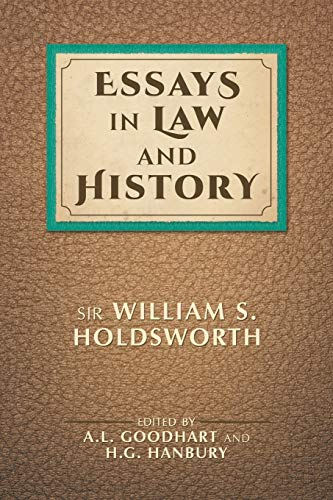 9781616194000: Essays in Law and History