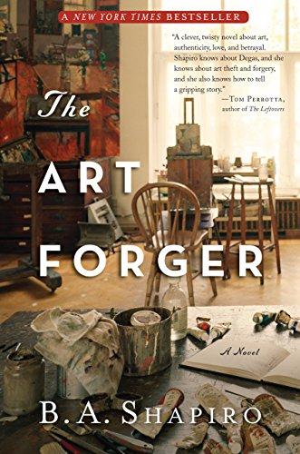 9781616201326: The Art Forger: A Novel