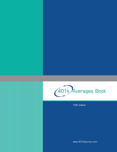 9781616236922: 401k Averages Book 10th Edition