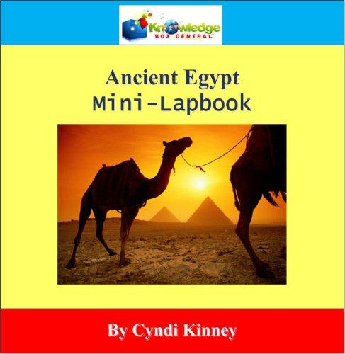 9781616250195: Ancient Egypt Mini-Lapbook - PRINTED