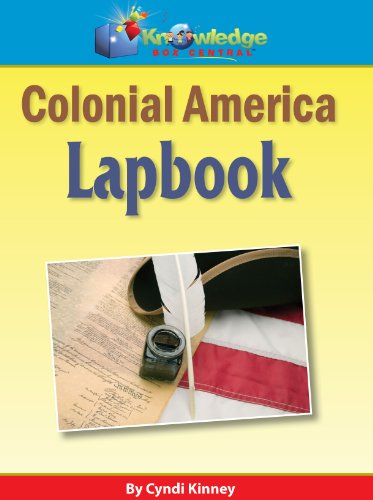 9781616250683: Colonial America Lapbook - PRINTED