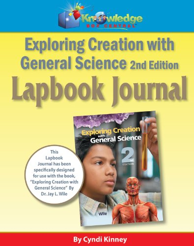9781616251222: Apologia Exploring Creation With General Science 2nd Ed Lapbook Journal - CD