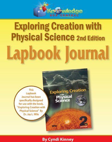 9781616251284: Apologia Exploring Creation With Physical Science 2nd Ed Lapbook Journal - CD