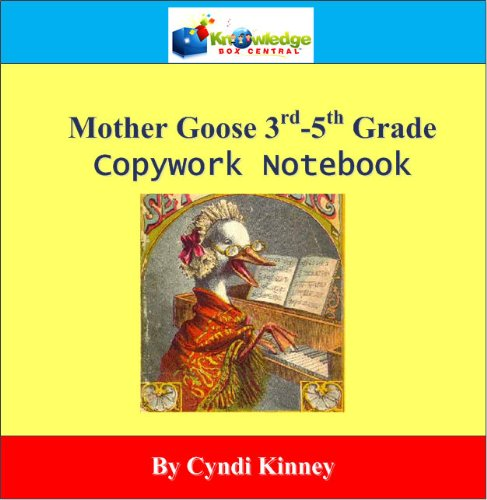 9781616251611: Mother Goose CopyWork Notebook CD-Rom for Grades 3rd-5th