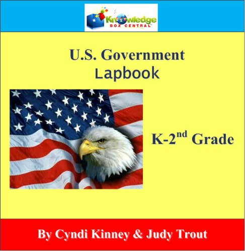 9781616253240: U.S. Government Lapbook Lapbook (K-2nd) - PRINTED