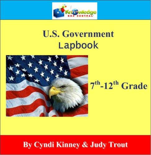 9781616253325: U.S. Government Lapbook Lapbook (7-12th) - PRINTED