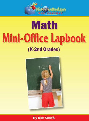 Math Mini-Office Lapbook Grades K-2-PRINTED (161625601X) by Kim Smith