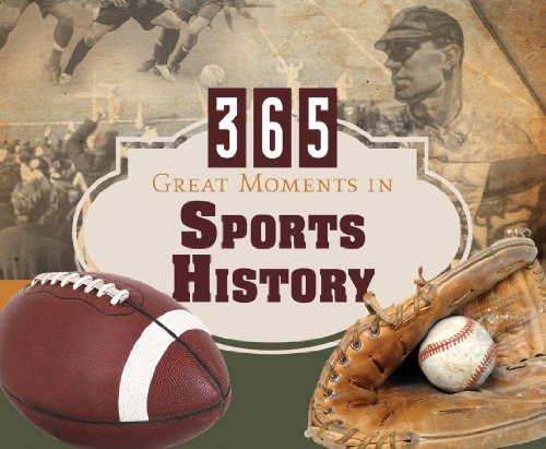 365 Great Moments in Sports History (365 Perpetual Calendars): Compiled by Barbour Staff