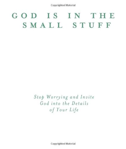 God Is In Small Stuff for Your Family (God Is in the Small Stuff (Barbour Press)) (1616260920) by Bruce Bickel; Stan Jantz