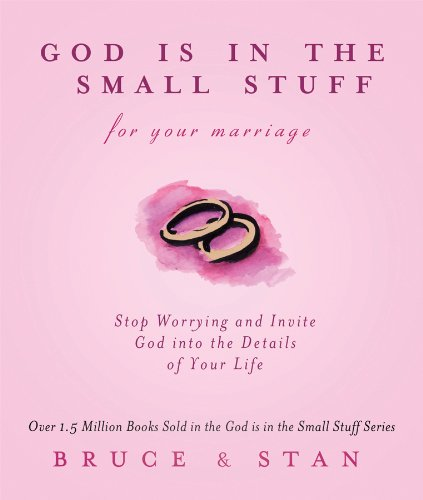 9781616260934: God Is In The Small Stuff for Your Marriage (God Is in the Small Stuff (Barbour Press))