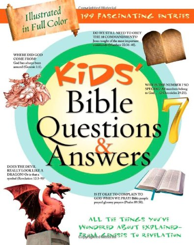 9781616261092: Kids' Bible Questions & Answers (Kids' Guide to the Bible)