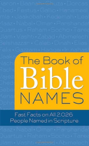 9781616262105: The Books Of Bible Names (Value Books)