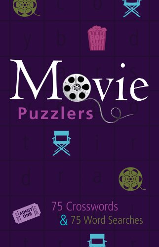 Movie Puzzlers: 75 Crosswords / 75 Word Searches: Compiler-Barbour Publishing Inc.