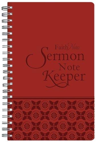 9781616263553: Faithnotes: Sermon Note Keeper