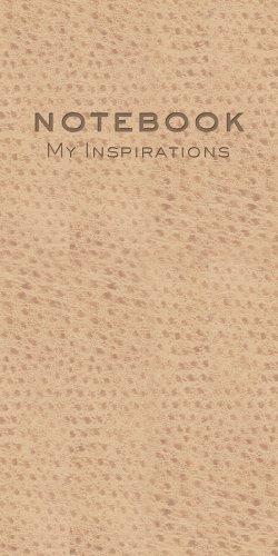 9781616264345: NOTEBOOK: MY INSPIRATIONS