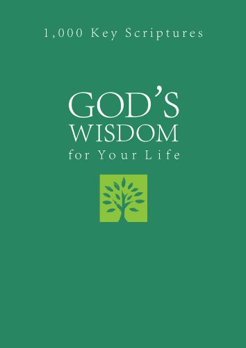 9781616264642: God's Wisdom for Your Life: 1,000 Key Scriptures