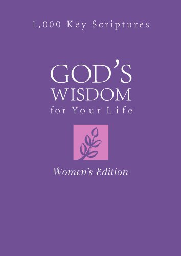 9781616264659: GOD'S WISDOM FOR YOUR LIFE: WOMEN'S EDITION