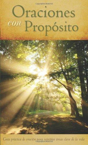 9781616265038: ORACIONES CON PROPÓSITO (Spanish Edition)