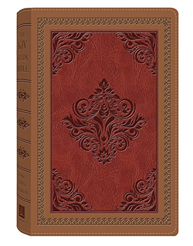 9781616265205: The KJV Study Bible (Antique Brown/Burgundy) (King James Bible)