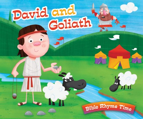 9781616266042: DAVID AND GOLIATH (Bible Rhyme Time)