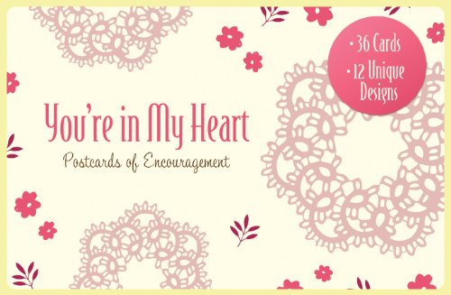 9781616266318: You're in My Heart: Postcards of Encouragement