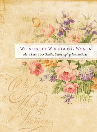 9781616266684: Whispers of Wisdom for Women: More Than 100 Gentle, Encouraging Meditations