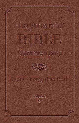 Layman's Bible Commentary Vol. 2: Deuteronomy thru: Longman, Dr. Tremper