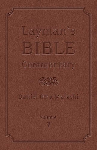 Layman's Bible Commentary Vol. 7: Daniel thru: Longman, Dr. Tremper