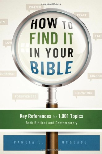 9781616269166: HOW TO FIND IT IN YOUR BIBLE
