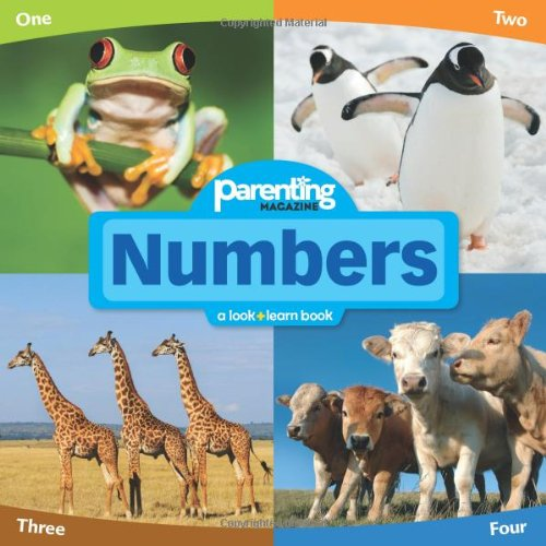 9781616280024: Parenting Magazine Look + Learn Numbers