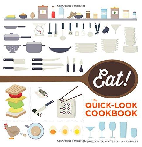 9781616288747: Eat! The Quick-Look Cookbook
