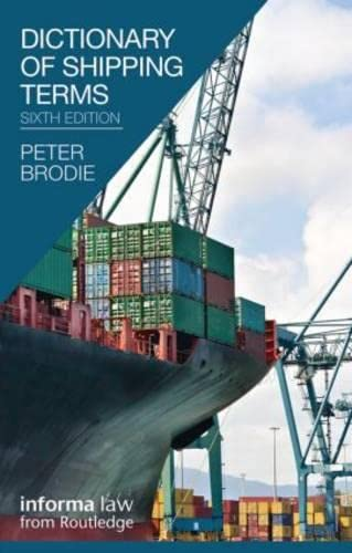 9781616310226: Dictionary of Shipping Terms