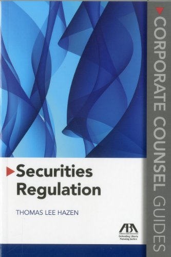 9781616320973: Securities Regulation: Corporate Counsel Guides