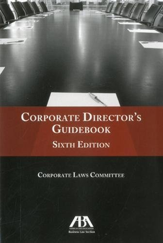 9781616328740: Corporate Director's Guidebook