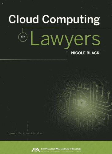 9781616328849: Cloud Computing for Lawyers